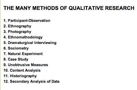 Dissertation research methods interview